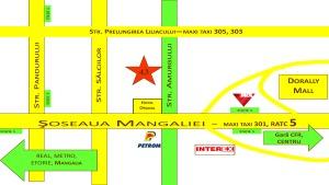 "Harta Biserica Penticostala ""Betel"" Constanta"